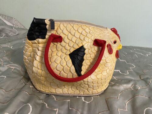 Chicken Coin Purse What The Cluck Zipper Bag Mask Bag Chicken Small Zipper Bag Chicken Organizer Bag What The Cluck Zipper Pouch