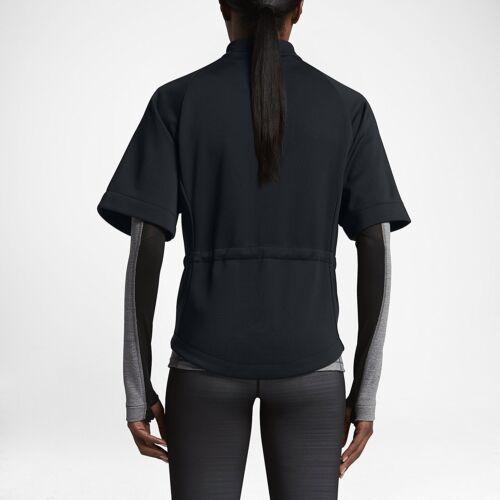 pour courtes de L Nike à Haut training Lg Femme Tech 809262 Therma Black manches sphere 010 xUqRqfwn