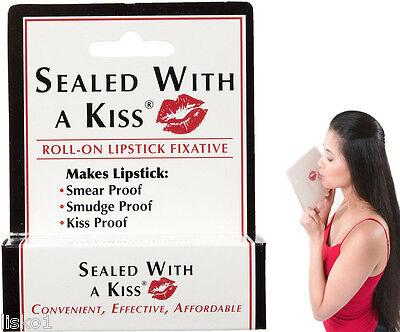Sealed With A Kiss Roll On Lipstick Fixative 0.17 fl oz. Advanced Formula