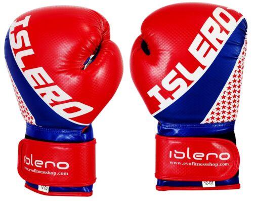 Islero Kick Boxing Gel Guanti Mma Sacco da Boxe Muay Thai Lotta Allenamento Uf