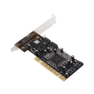 PCI To SATA Controller Adapter Card Converter Addon