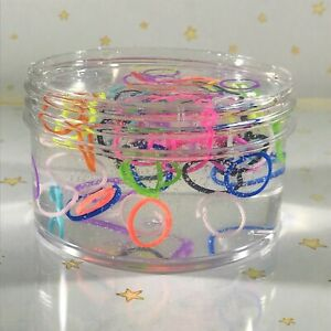 Scented-Clear-SLIME-034-SILLY-STRINGS-034-Stretchy-Thick-Rainbow-Colors-2-4-6-8-oz