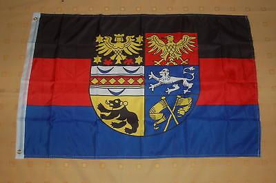 Fahne Deutschland Ostfriesland mit Prachtwappen Flagge ostfriesische Hissflagge