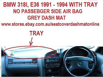Grey Dashmat for BMW 5 Series E39 5//1996-0//2003 Dash Mat DM967