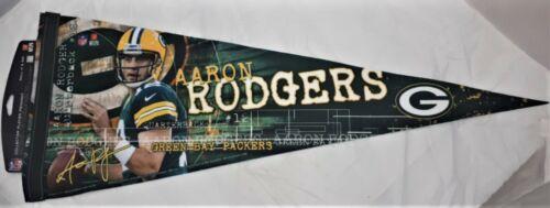 NFL Greenbay Packers Aaron Rodgers Wincraft Fan Filz Wimpel Banner ca 30 x 75 cm