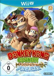 Nintendo-Wii-U-Jeu-Donkey-Kong-Country-Tropical-Freeze-avec-neuf-dans-sa-boite