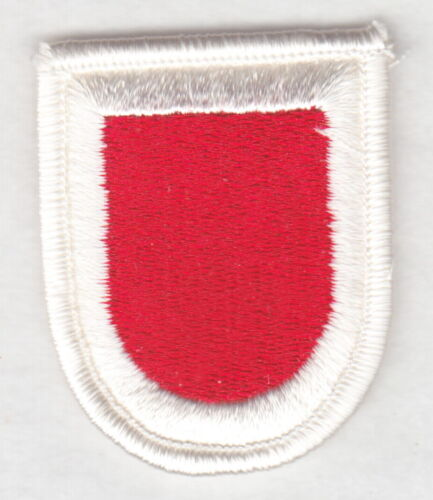 307th Engineer Battalion Army Beret Patch merrowed edge