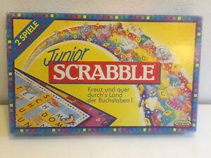 Junior-Scrabble-von-Jumbo-Brettspiel-Gesellschafts-Familien-Wort-Kinder