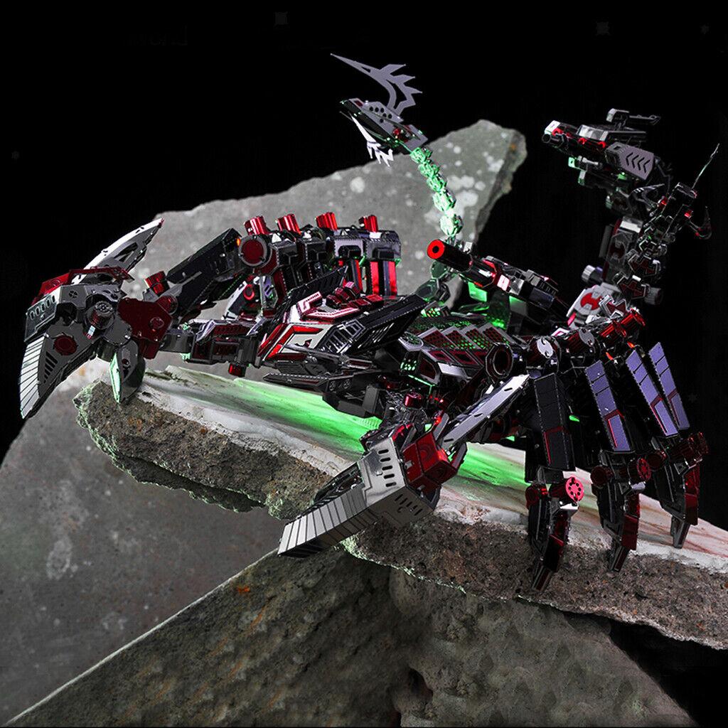 3D METAL PUZZLE combat Scorpion Robot assembler Model Kits Puzzle Kid Toys