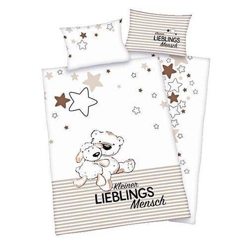 Herding glatt Kinder Bettwäsche Jana Lieblingsmensch 100 x 135 Geschenk NEU WOW