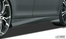 RDX Seitenschweller Audi A4 B8 8K Seiten Schweller Set Spoiler Leisten ABS 393R