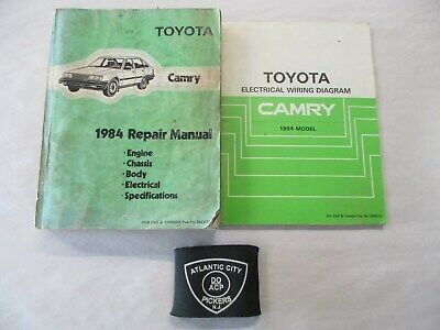 1984    TOYOTA       CAMRY       SERVICE       SHOP       REPAIR    MANUAL   ELECTRICAL