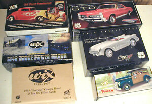 Details about 6 Unopened Wix Collectables 39 Chevy 53 Vette 67 GTO 34 Coupe  40 Woody 46 Dodge