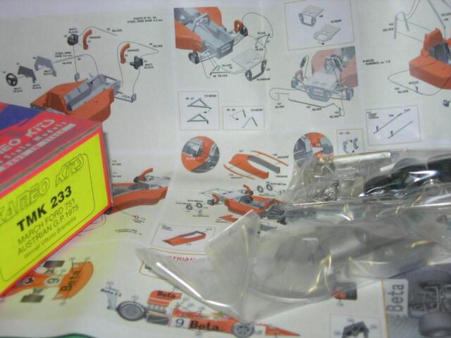 Tameo Kits 1:43 KIT TMK 233 March Ford 751 Austrian GP 1975 Winner Brambilla NEW