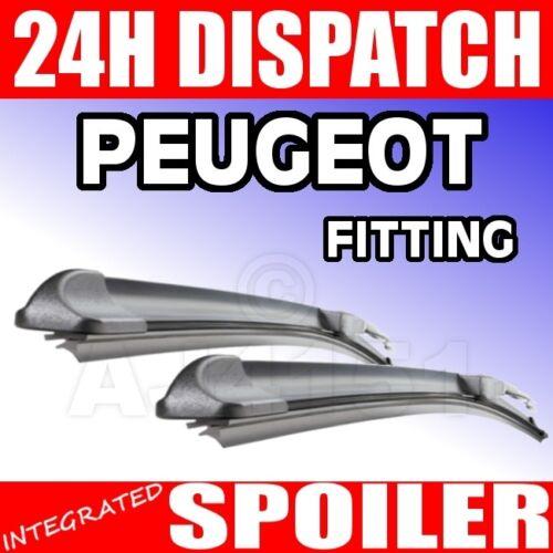 "PEUGEOT 206 1998-2001 FX Flexi Plat Balais 19//26 /"""