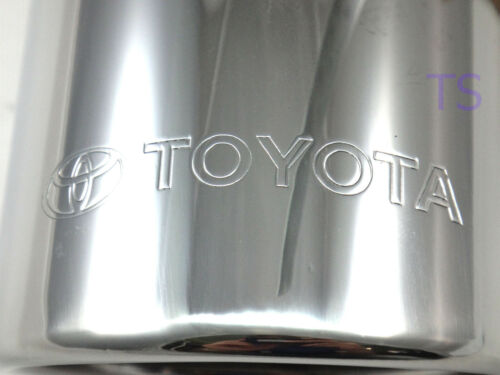 Pipe Tip Cutter Exhaust Fit Toyota New Fortuner Genuine Suv 2016 17 Muffler