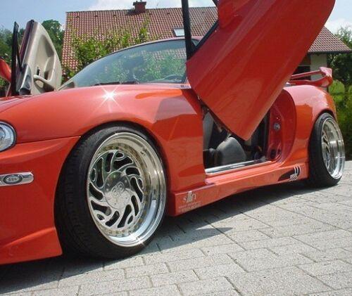 OPEL CAMPO 4-portes 1992-2002 Deflecteurs de vent 2-pièces HEKO Bulles