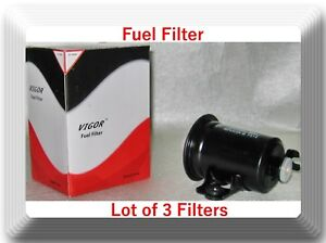 Details about Lot 3 Fuel Filter GF54664 Fits:Chevrolet Geo Prizm 1.6L