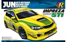 Aoshima 1/24 Scale Model Car Kit Jun Auto Subaru Impreza WRX STi GRB Street Spec