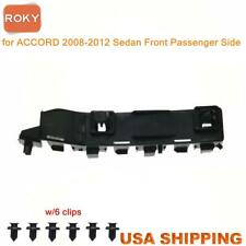 For Accord Sedan 2008 12 Bumper Bracket Retainer Front Right Beam Mount Support Fits 2008 Honda Accord