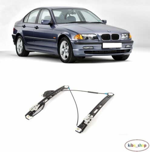 SERIES E46 1998-2005 NEW FRONT WINDOW REGULATOR RIGHT O//S DRIVER BMW 3