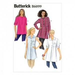 Butterick Ladies Easy Sewing Pattern 6283 Loose Fit Pullove... Free UK P/&P