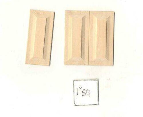 "Wainscot Panel   1 x 2-1//4/""    NE1070  wood dollhouse miniature 3pc set CLA71070"