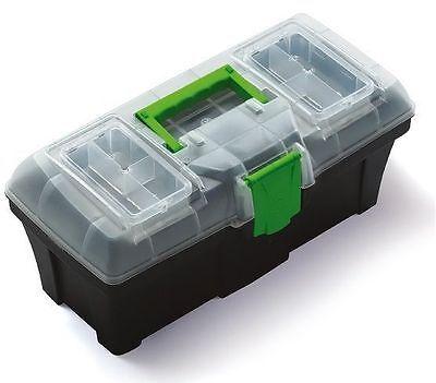 FleißIg Werkzeugkoffer Werkzeugkaste Serie Greenbox N15g