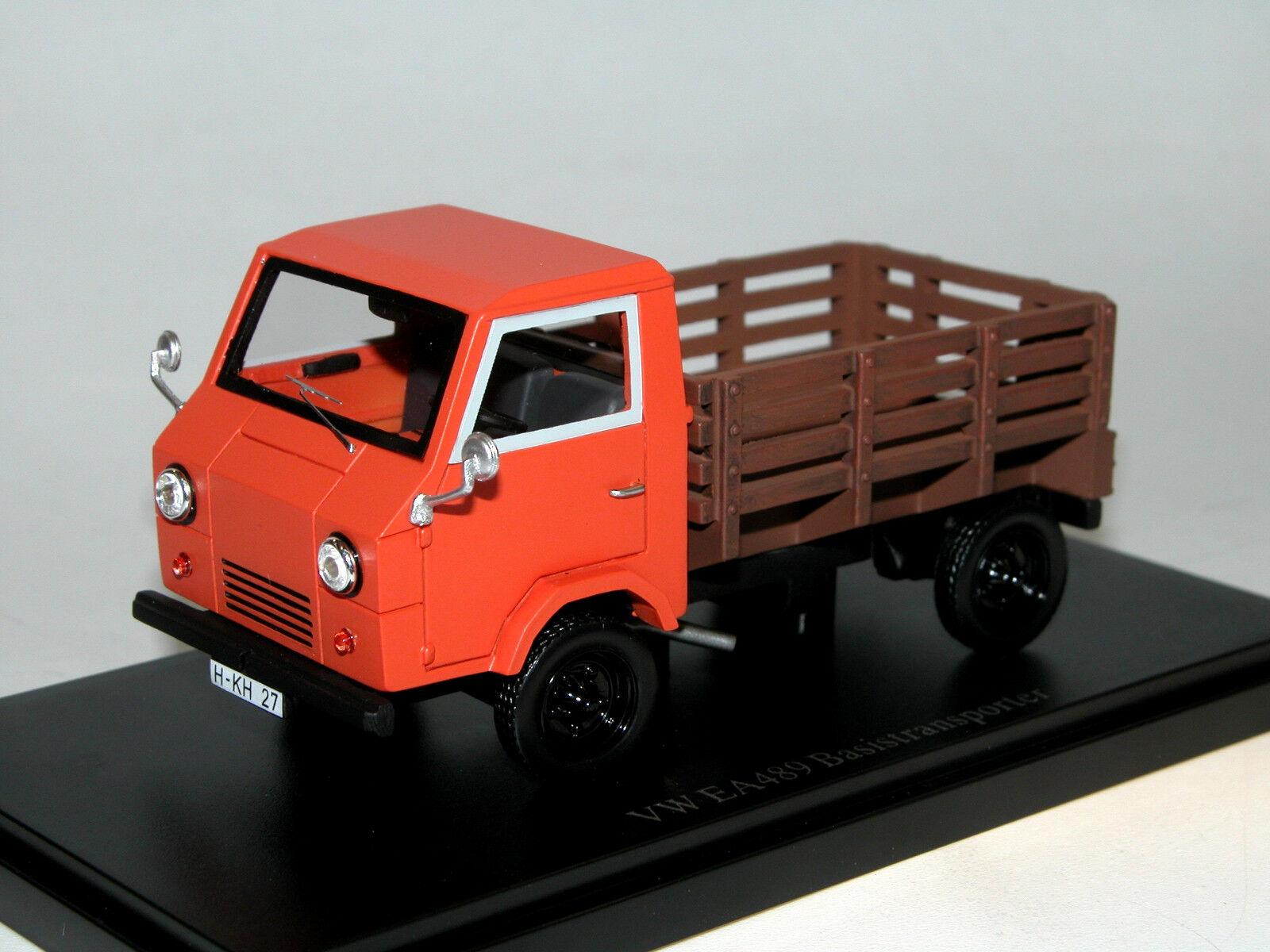 Autocult 08002 1973 vw ea489 basistransporter über modell 1   43