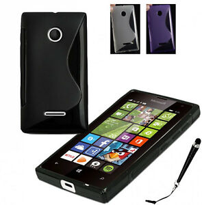 official photos 2010a 3bc82 Details about S Curve Gel Jelly Cover Case Microsoft Nokia Lumia 530 435  532 540 + SP&Stylus