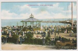 Essex-Postkarte-Der-Musikpavillon-Clacton-on-Sea-P-U-1911-A296