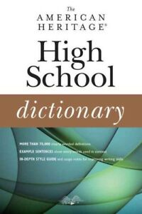American-Heritage-High-School-Dictionary-Paperback-by-Editors-of-the-America