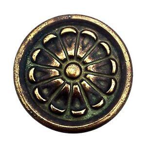 """2"""" Bronze Antique Hardware Vintage Drawer Pull Mid Century Modern Cabinet Knob"""
