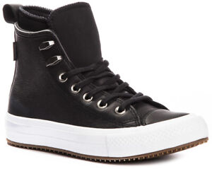 Details zu CONVERSE Chuck Taylor WP Leather 557943C Waterproof Sneakers Shoes Boots Womens