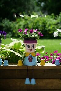 Flower pot people Kid Annemarie