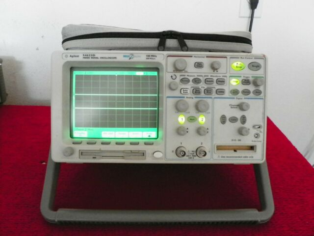 Agilent HP 54622D 2 16 Channel 100 MHz MSO