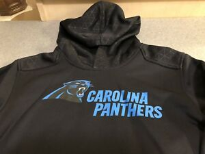 outlet store 40bb1 d646f Details about Carilina Panthers NFL Team Appearal Hooded Sweatshirt Youth XL