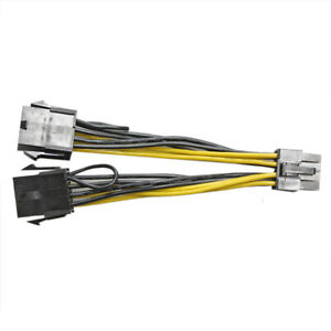 8pin to 8pin Power Cable for DELL T5810 and Nvidia K80//M40//M60//P40//P100 PCIE GPU