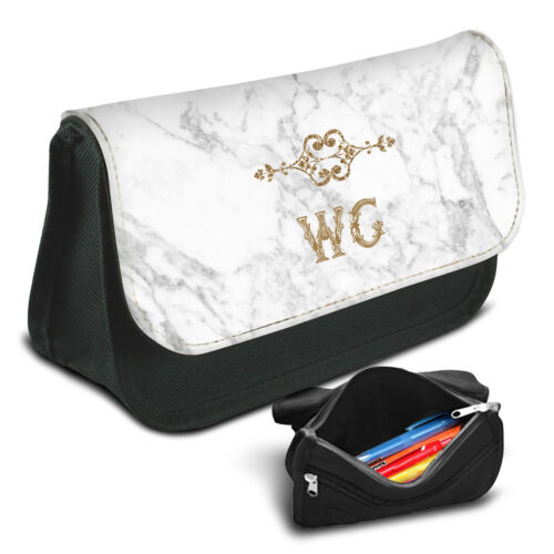 Marble Personalised Pencil Case Game School Bag Kids Stationary 31
