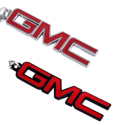 1x GMC Emblem Key Ring Alloy Metal Decorative Car Keychain