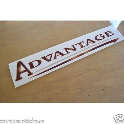 ELDDIS Advantage Caravan Motorhome Name Sticker Decal Graphic SINGLE