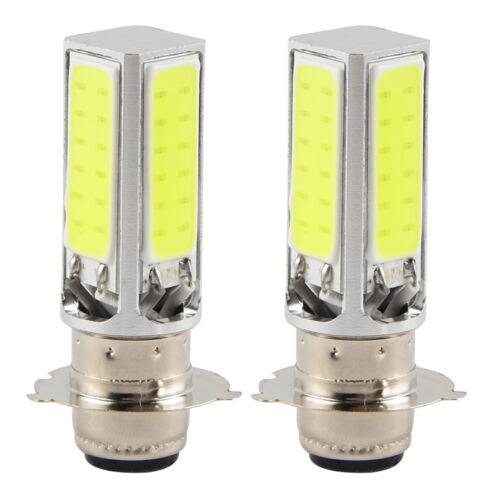 2x LED Headlight Bulbs White For Suzuki LT-160 LT-160E LT-230E LT-230GE LT-230S