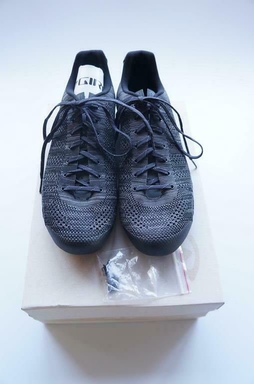 Giro Empire E70 Knit Road Schuhe Größe 49 Schwarz #G93