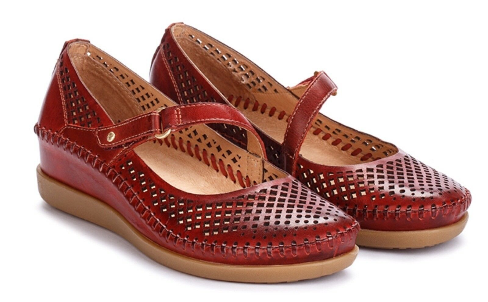 Pikolinos Maryjane Style Style Style shoes, Comfort And Breathable, Sandia Brown Leather, 38 b81494