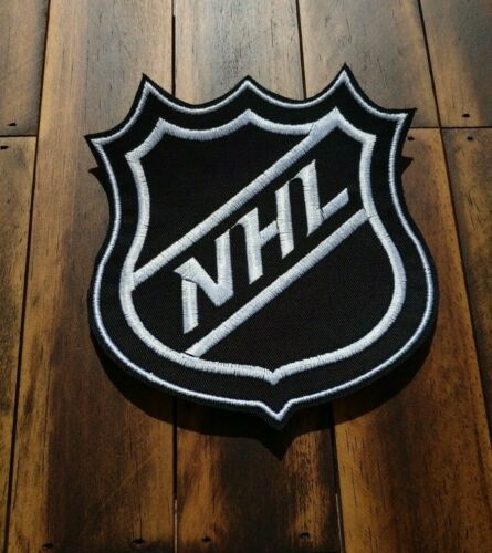 Patch Iron-On or Sew-On NHL Logo National Hockey League Embroidered Applique