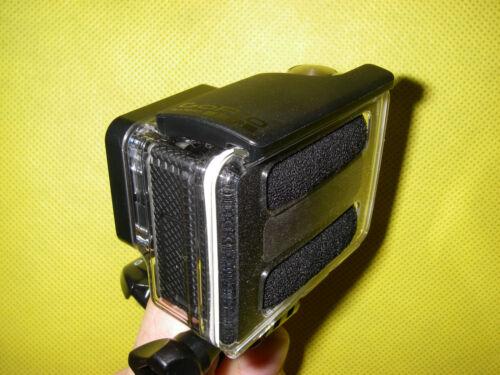 4 Black for Gopro Hero 3  3 2 X NEW microphone windscreen wind noise reducer