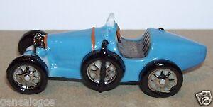 Rare Bugatti Type 35 Gros Modele 6cm De Long Feve Porcelaine 3d 1/72 Voir Photos