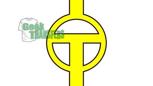 Logotipos de superhéroe Set 2 Hierro en camiseta de transferencia de calor del Flash Linterna Verde