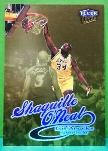 Shaquille-O-039-Neal-card-Gold-Medallion-98-99-Ultra-93G