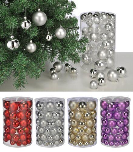 60 sapin de Noël boules boules de Noël sapin de Noël Bijoux Boules de Noël